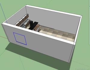 tutorial kitchen vray sketchup