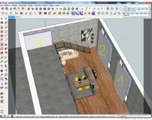 Vray sketchup tutorial Interior #40 3