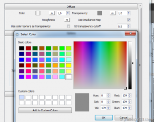 Vray sketchup tutorial interior salone 011o