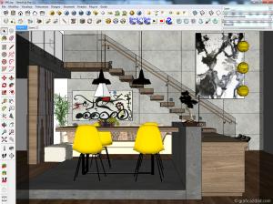 Vray sketchup tutorial Interior #40 cover 1