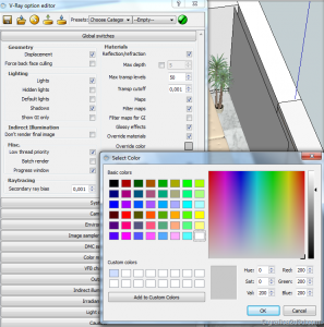 Making of tutorial vray sketchup interior #15 h