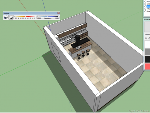 making of tutorial kitchen vray sketchup b