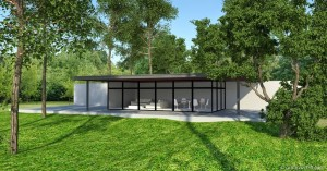 Vray sketchup Exterior#118 with visopt 01