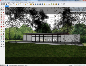 Vray sketchup Exterior#118 with visopt 02