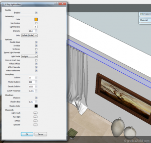 Sketchup tutorial interior #111 h