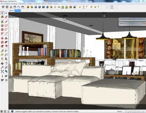 Sketchup tutorial interior #111 d