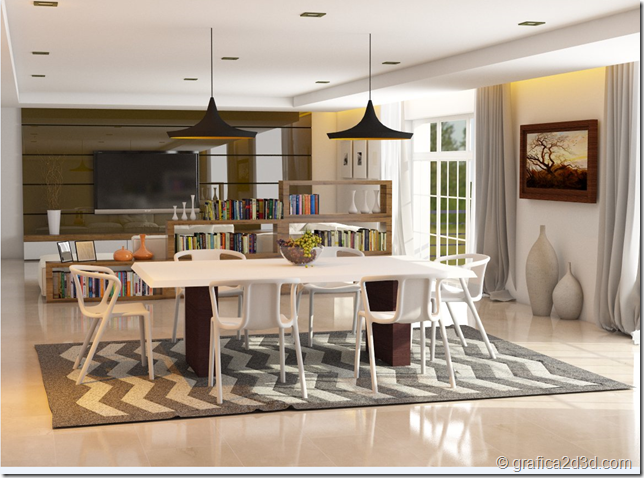 Sketchup vray tutorial interior #111 a