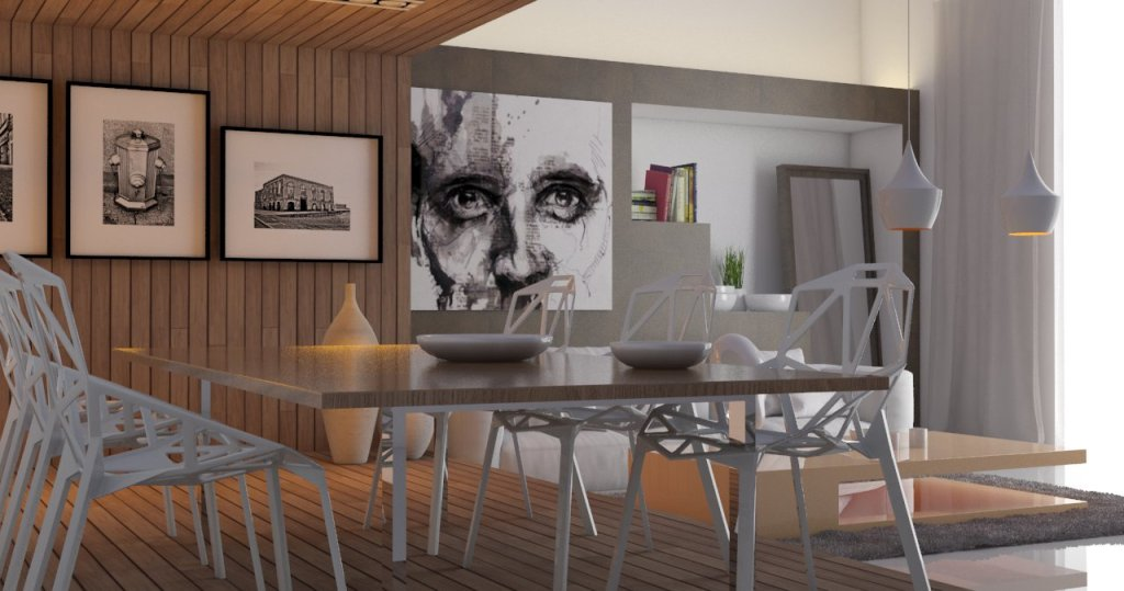 Tutorial vray sketchup interior 125