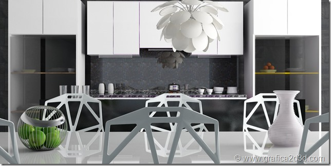 Tutorial vray sketchup kitchen