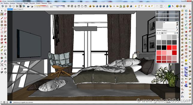 Tutorial carpet vray sketchup