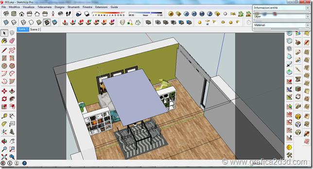 Vray sketchup interior