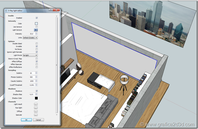 Vray sketchup making of