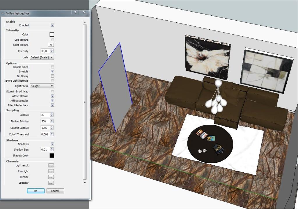 Vray sketchup making of 159