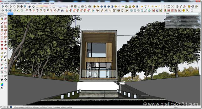 Tutorial hdri exterior vray sketchup #scene127