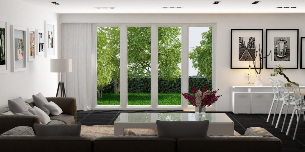 Living room 160 vray sketchup