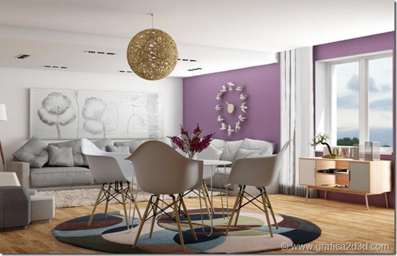 Vray sketchup interior scene 188