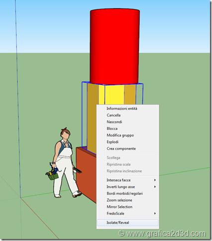 Sketchup plugin Select n : isola oggetti selezionati