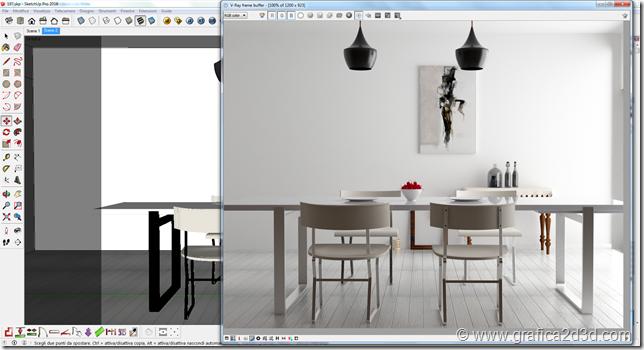 Scena studio corso vray per sketchup 197 for Arredi 3ds