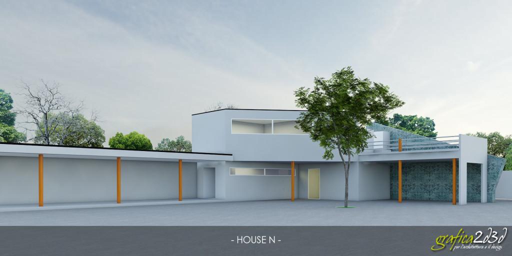 HOUSE N - exterior test hdri light