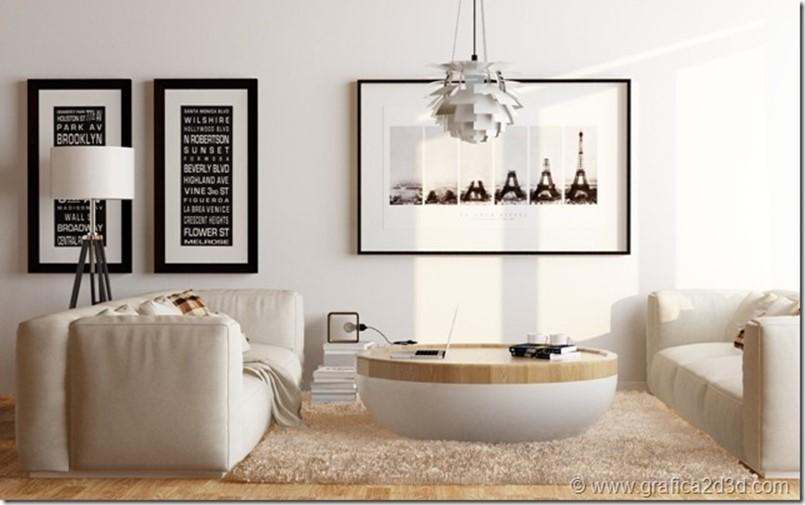 Tutorial vray sketchup interior living