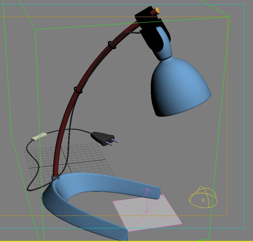 Render di un oggetto con vray e 3d studio max