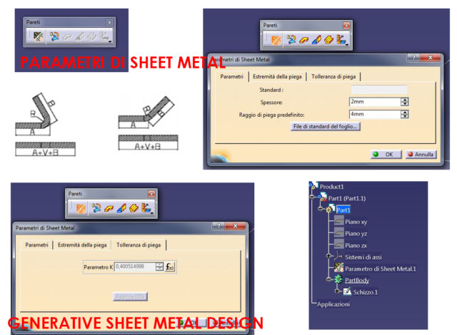 Catia v5 generative sheet metal design