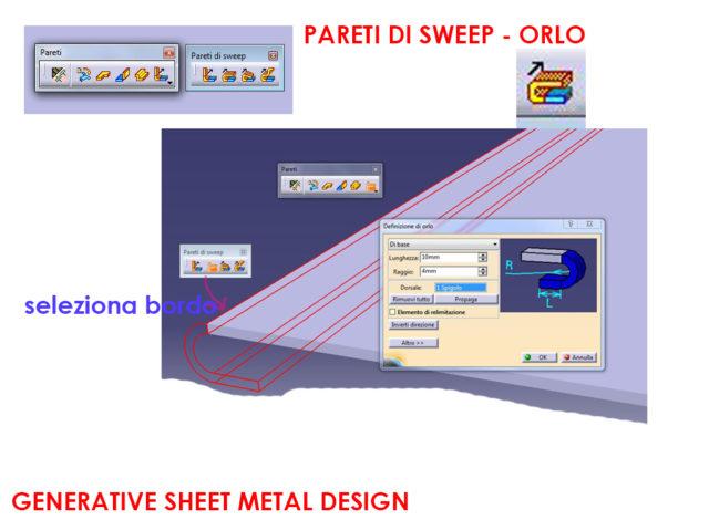 Catia v5 generative sheet metal design