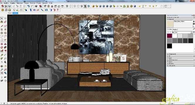 Vray sketchup grafica2d3d corsi di grafica per l for Arredi sketchup