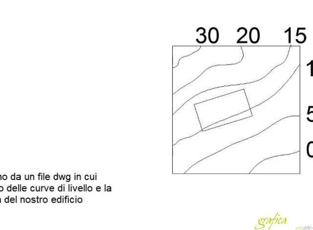 revit creare terreno da un dwg 3d