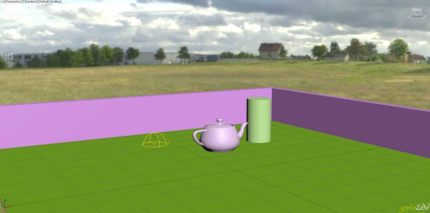 Vray 3d studio max visualizzare mappa hdri in viewport