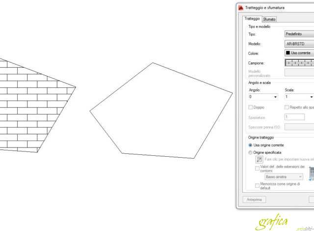 Come trasformare pattern in una polilinea autocad