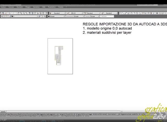 Come importare un file autocad in 3d studio max