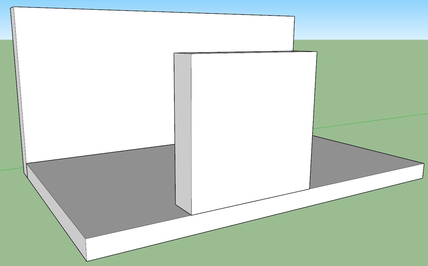 Nascondere un oggetto in sketchup