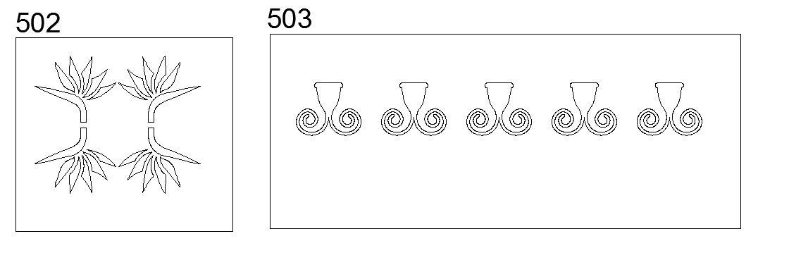 Nuovi disegni cnc per taglio al plasma e laser