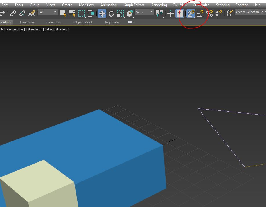 Come impostare lo snap in 3d studio max