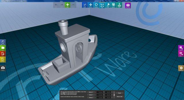 Stampa 3d 3d benchy - test alfawise u30
