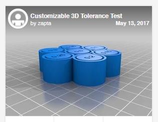 Test dimensionali per la stampa 3d