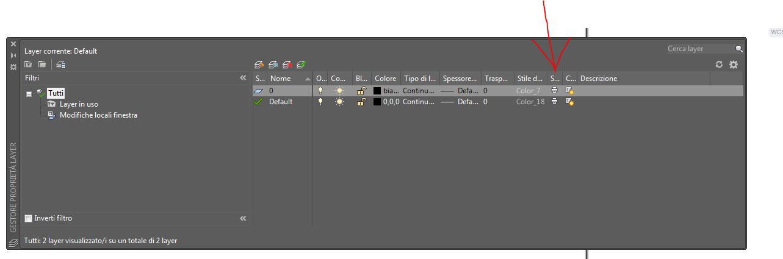 Come si fa a non stampare un layer in cad