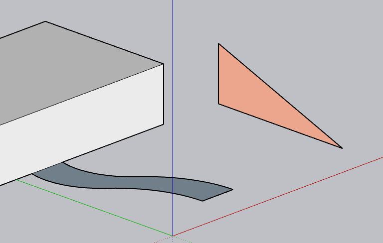 Come realizzare una rampa curva con sketchup