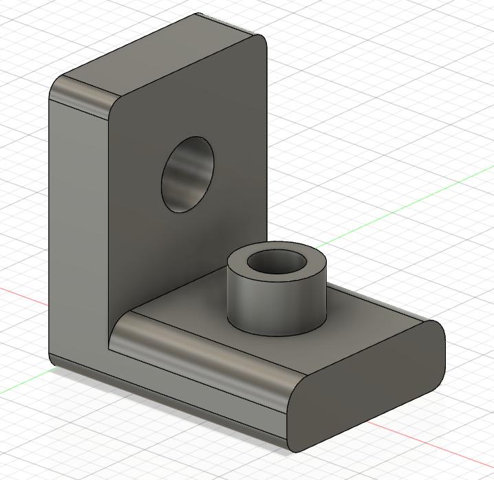 Modellare un pezzo meccanico con fusion 360 p01